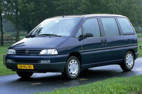 Peugeot 806 1998–2018